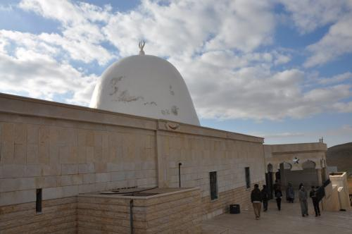 Tomb of Abel, son of Adam and Eve, located 50km of Damascus, Syria and 20km of Syria-Lebanon border