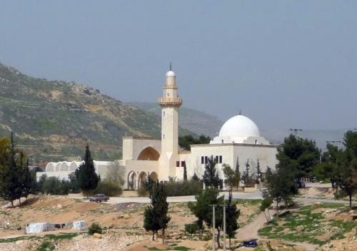 Jethro's shrine in Wadiye Shoaib, Jordan