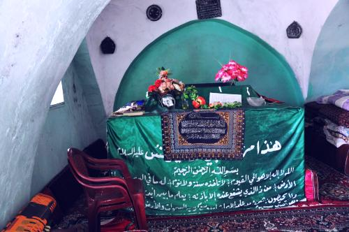 The shrine where Jonah is buried