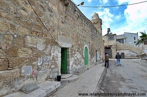 Exterior of the Tomb of Lot located in Beni Naim village of West Bank, 2 miles from Hebron, Palestine