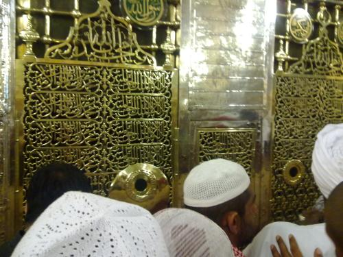 The tomb of Muhammad is located in the quarters of his third wife, Aisha